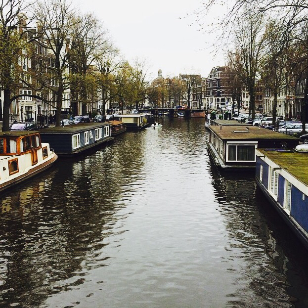 amsterdam, blue, boat, boats, canal, city, floating, green, happy, holland, instagram, landscape, love, netherlands, peace, photo, river, tfios, trees, trip, adventur, beautiful, dream 