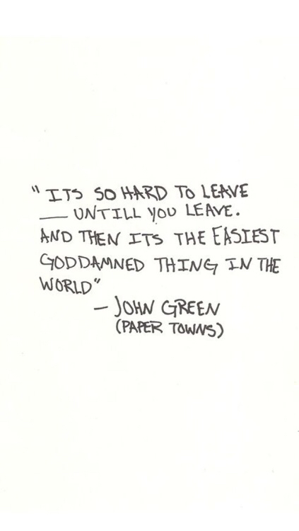 books, john green, paper towns, quotes - image #3133619 by patrisha on ...