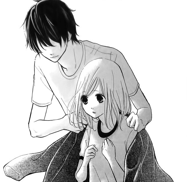 anime couple, black and white, couple, cute, gentle, girl and boy, hug, kawaii, kiss, love, manga, manga couple, manga love, monochrome, pretty, romance, school, school uniform, anime romantic, manga romantic, anime, ️anime love