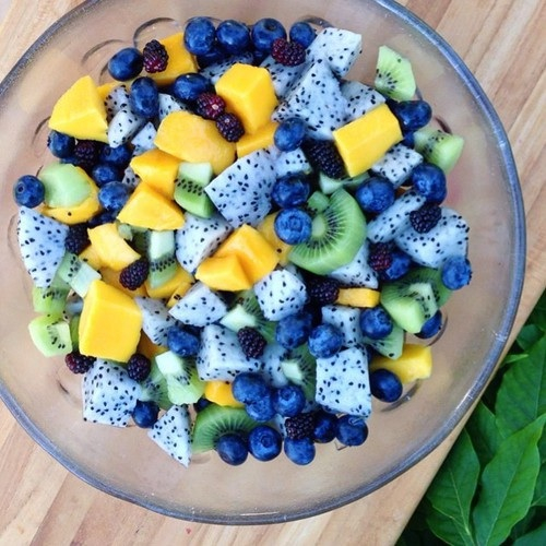 healthy fruit ideas how to cut dragon fruit