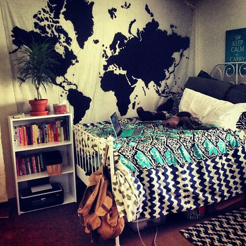 Chambre coucher inspiration chambre tumblr first set for Chambre we heart it