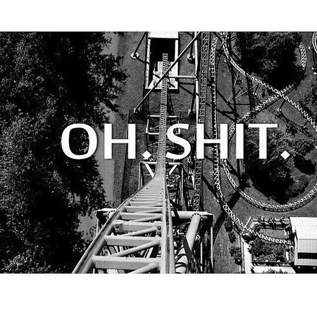 black and white, d, disney land, exciting, fear, fun, high up, instagram, photography, rebel, reckless, roller coaster, theme park, thoughts, tumblr, view, the top of the world