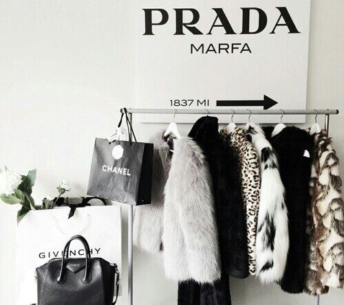 bags, black, chanel, clothes, gold, prada, white - image #3233235 ...