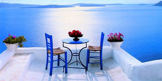 blog, blue, chairs and dinner