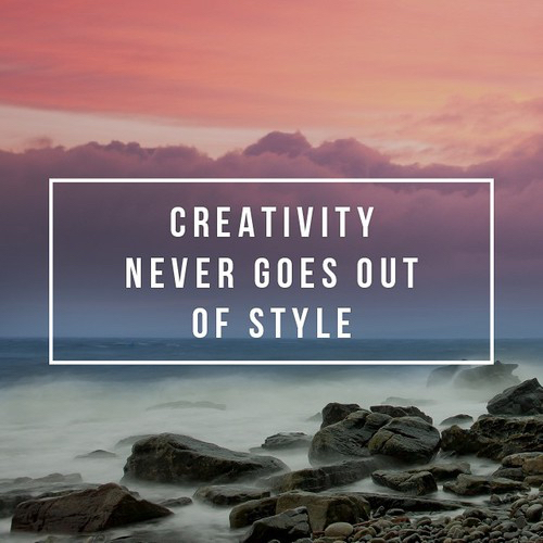 Creativity never goes out of style