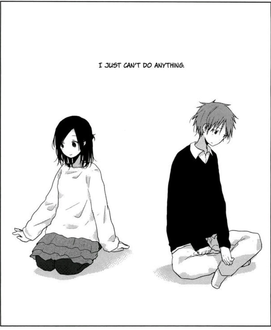 Beautiful black black and white boy couple cute cute anime