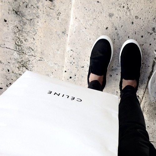 black and white, celine, clothes and fashion