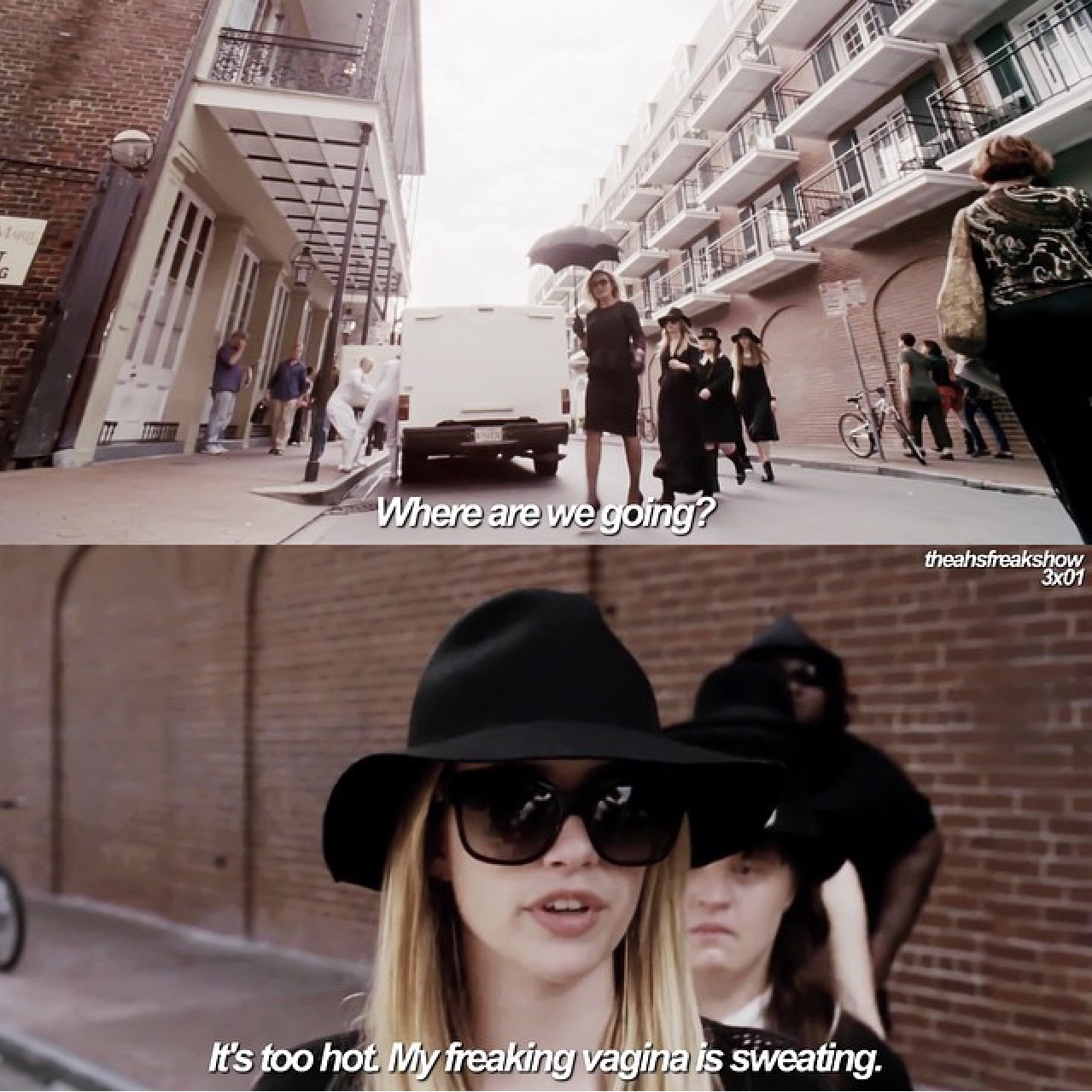 ahs, american horror story, funny and tv