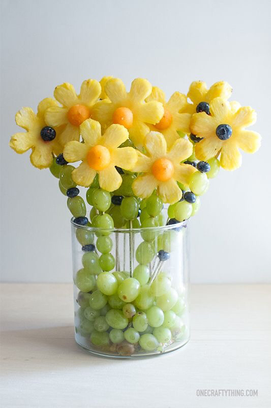 fruit flowers canned fruit healthy