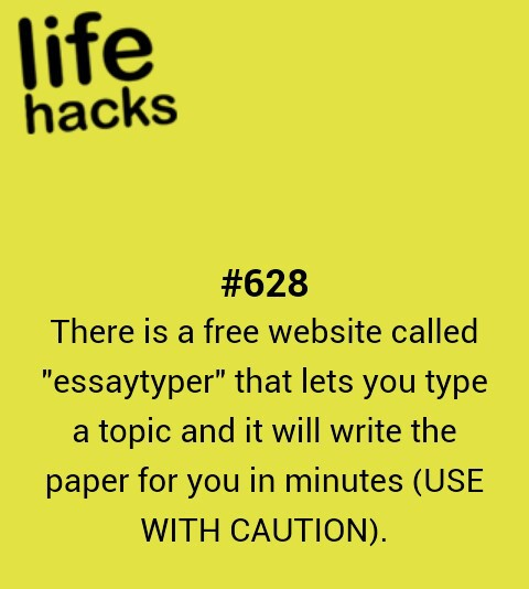 school essay hacks Five paragraph essay walks students through the process of writing a five-paragraph essay if you are writing a formal essay for high school or college, you will need to come up with a thesis.
