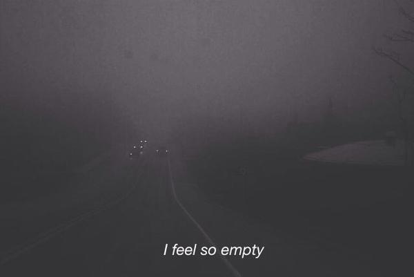 black and white, empty, lonely and sad