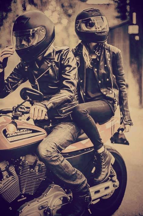 bad boy, boy and girl, love, motorcycle, trouble, ❤