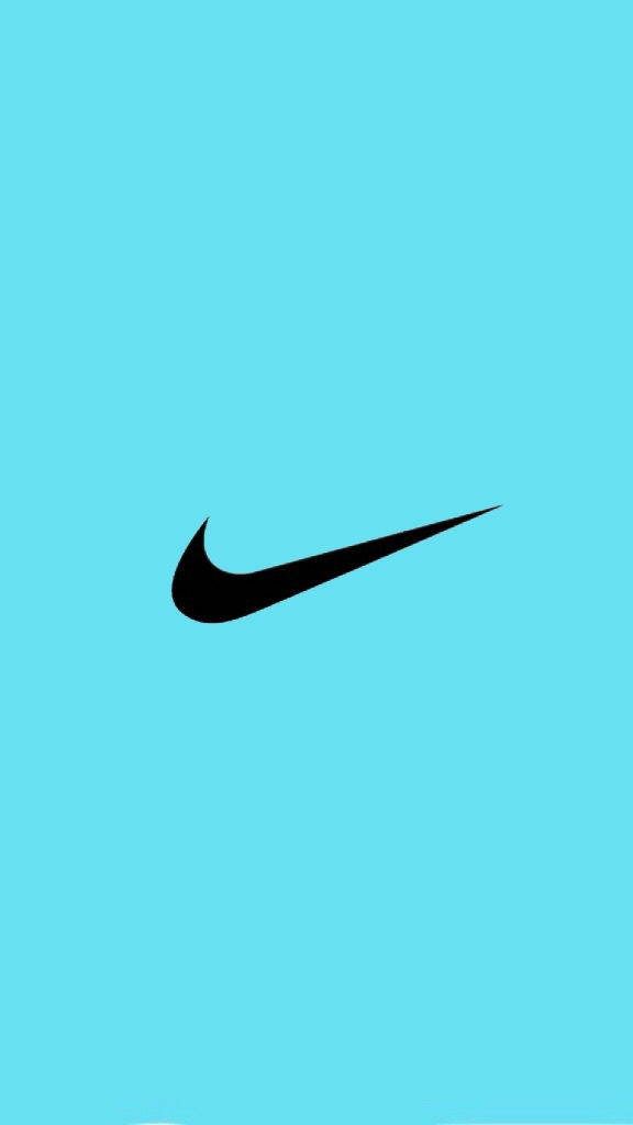 blue nike logo with a black background wwwimgkidcom