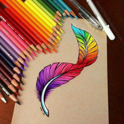 Rainbow Feather Pictures Photos And Images For Facebook