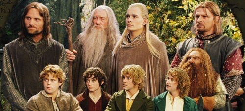 aragorn, boromir, frodo, gandalf, legolas, lotr, merry, merry and pippin, pippin, samwise, the lord of the rings, tolkien