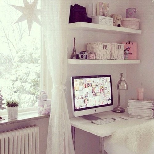 Comfy image 3404678 by marine21 on for Cute girly bedroom ideas
