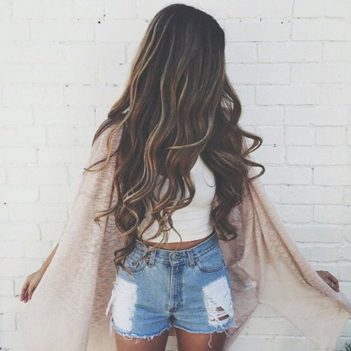 Hairstyle Goals : ... , girl, hair, hairstyle, indie, outfit, pretty, tumblr, hair goals