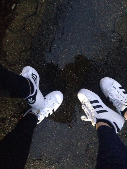 adidas, black and white, clothes and fashion