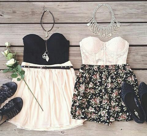 black, blackandwhite, casual and dress