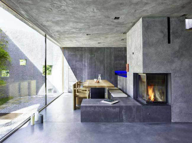 architecture, beautiful, contemporary, elegance, elegant, home decor, home design, homes, house, lifestyle, luxurious, luxury, modern house, natural, nature, switzerland, concrete house