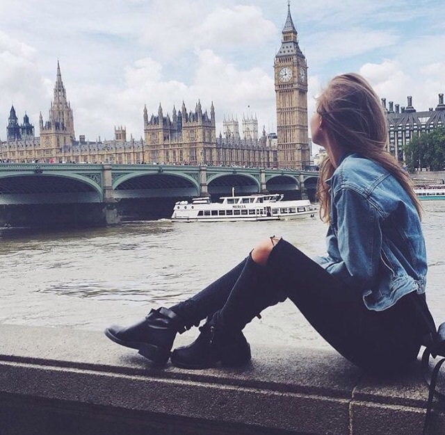 adventure, architecture, autumn, big ben, boots, brandy melville, building, city, clothes, denim, distressed, england, fall, fashion, girly, grunge, inspo, j, jacket, jeans, london, outfit, ripped, style, travel, tumblr, turist, vintage, wanderlust