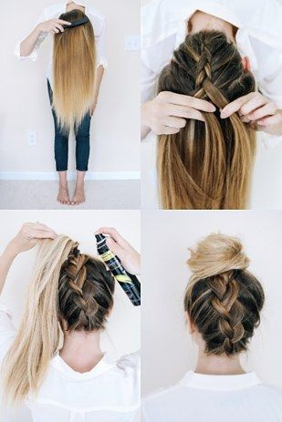 diy, do it yourself, hair tutorial and hairstyle tutorial