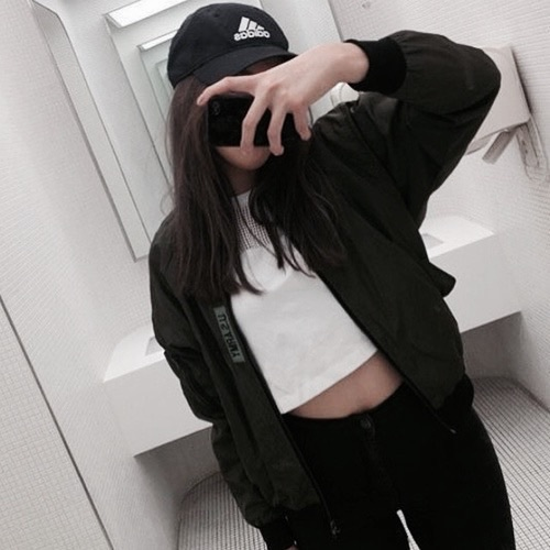 adidas, aesthetic, black and white, brunnete, crop top