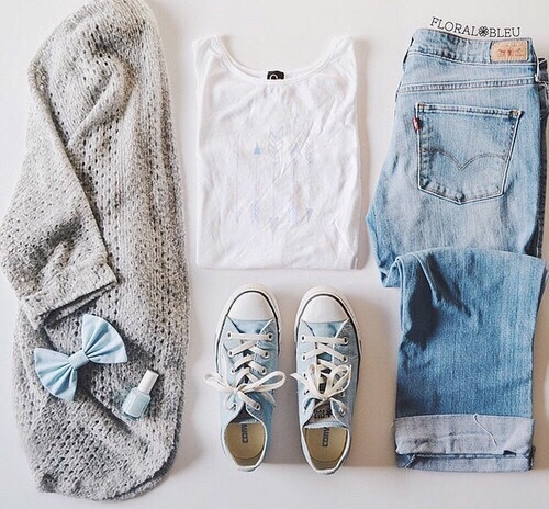 clothes, cute, denim, fall, fashion, girly, hipster, outfit, shoes, style, trendy, ootd