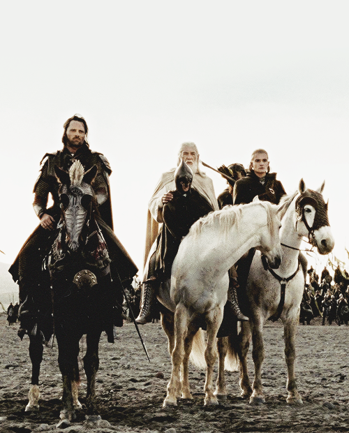 aragorn, gandalf, legolas and the lord of the rings