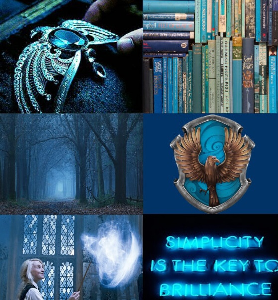 harry potter, neon, eagle, luna, potterhead, neon quote, intelligence, forest, aesthetic, tiara, blue, ravenclaw, brillance, quotes, hogwarts, books, wise