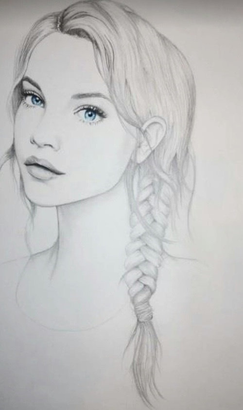 Alone art blue eyes drawing favim com 3603209 jpg 500x843 sketching pinterest drawings drawing ideas and sketches