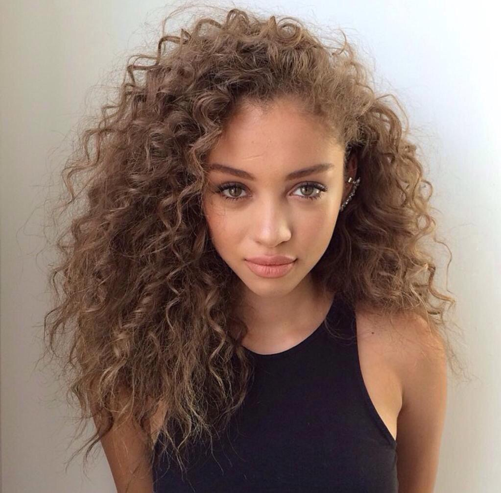 beautiful, curly, girl, hair, mannequin, models