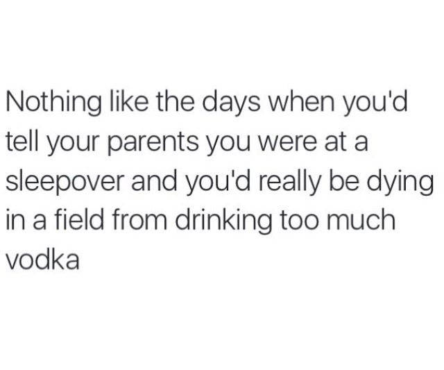 drunk, dying, family, field, funny, joke, lying, parents, party, quotes, random, sleepover, text, vodka