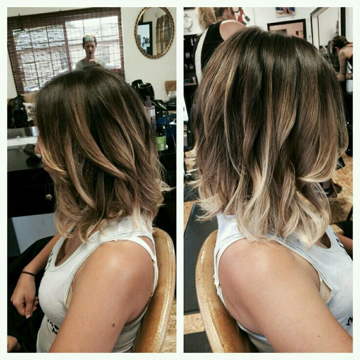 Brown Ombre Short Hairstyle Image 3684649 By Violanta On