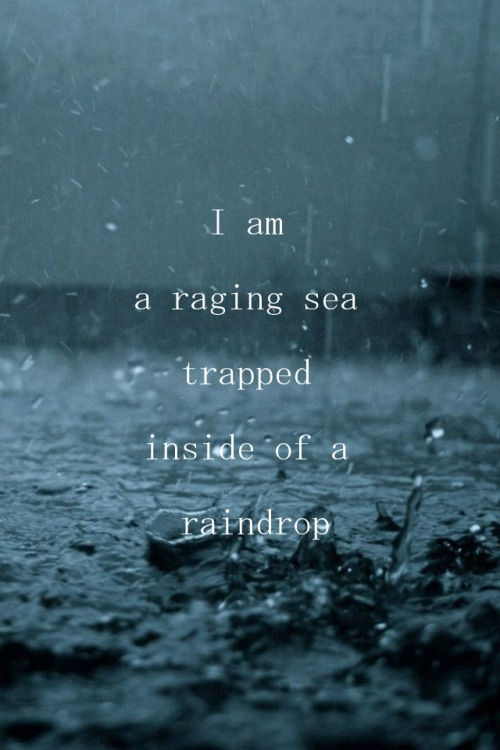 Sad Love Quotes About Rain : 19, black, blue, poetry, rain - image #3698109 by marine21 on Favim ...