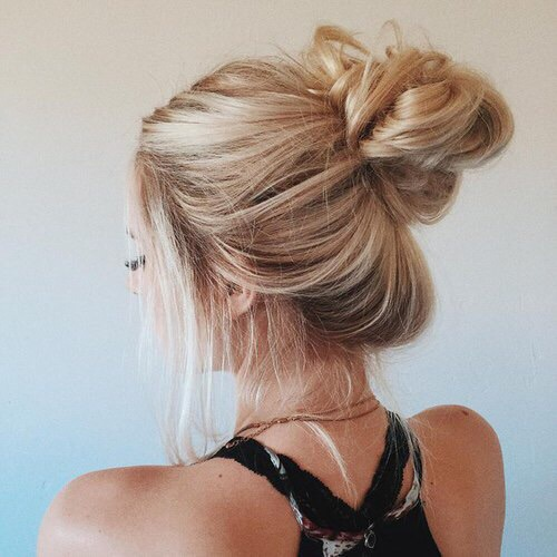 autumn, beauty, black, blonde, fashion, girl, grunge, hair, inspo, messy bun, model, travel, white