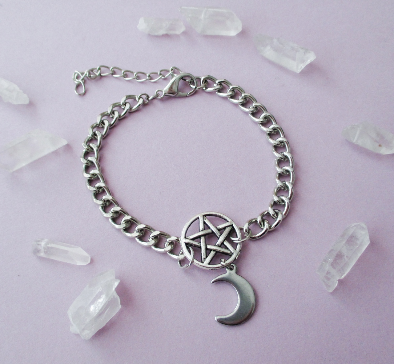 aesthetic, alternative, crystals and fashion
