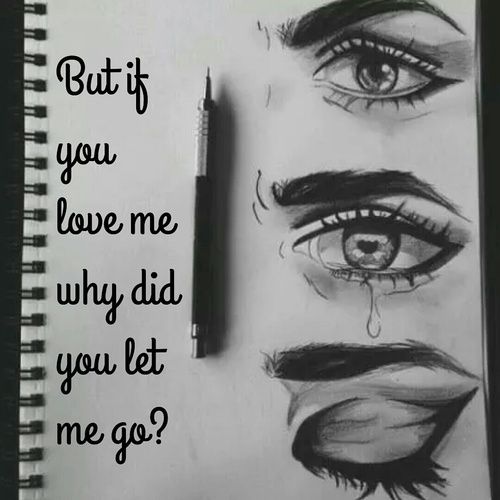 Sad Love Quotes About Eyes : , crying, drawing, eyes, leave, love, lyrics, me, pencil, quotes, sad ...