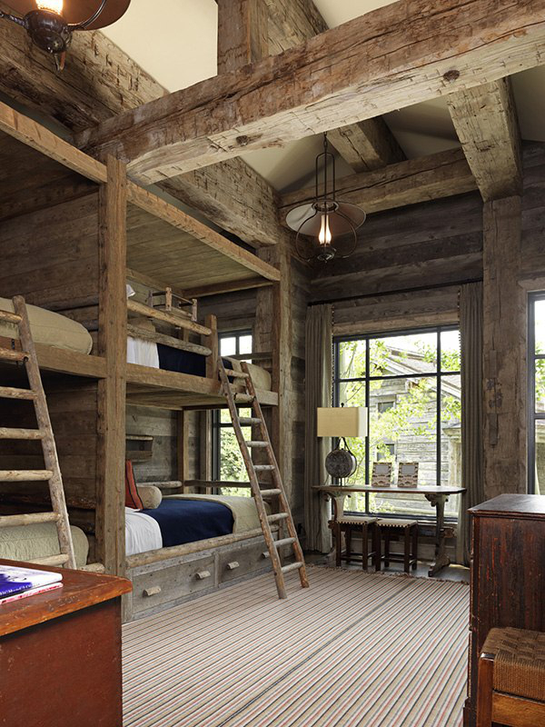 cabin, design, home, house, interior, places, room, wood