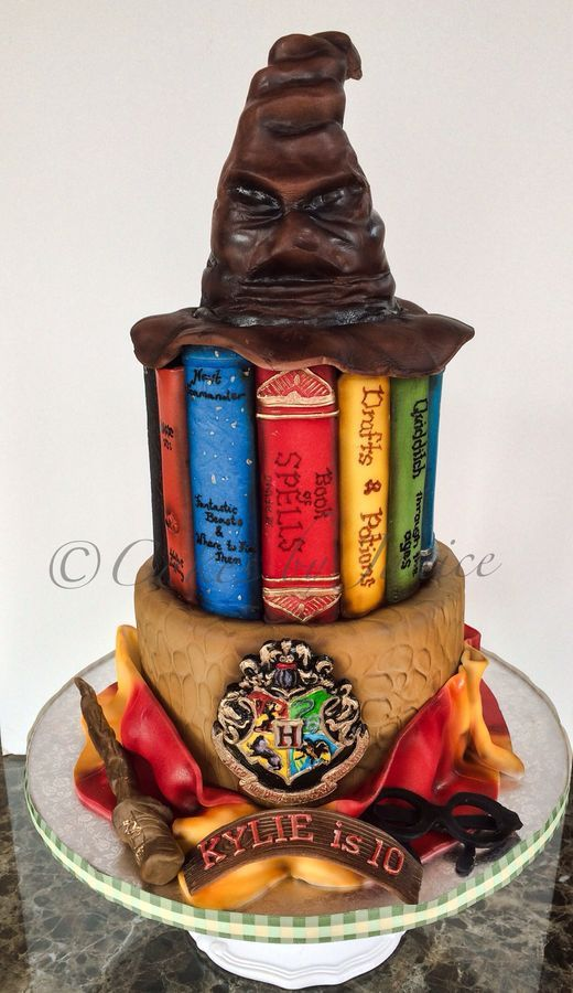harry potter themed cake