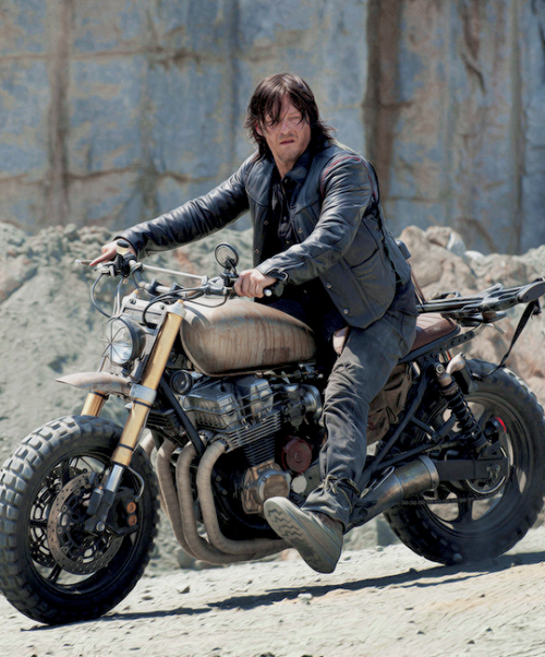daryl dixon, motorcycle, the walking dead, twd