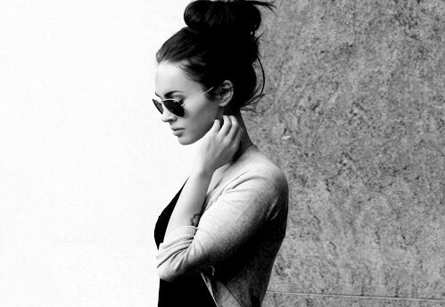 adorable, amazing, awesome, beautiful, beauty, classy, girl, hair, hairstyles, like, luxurious, luxury, megan fox, style, sunglasses