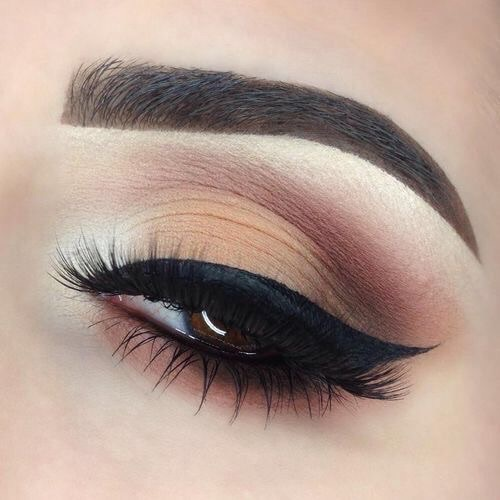 how to do eyebrows to make eyes look bigger