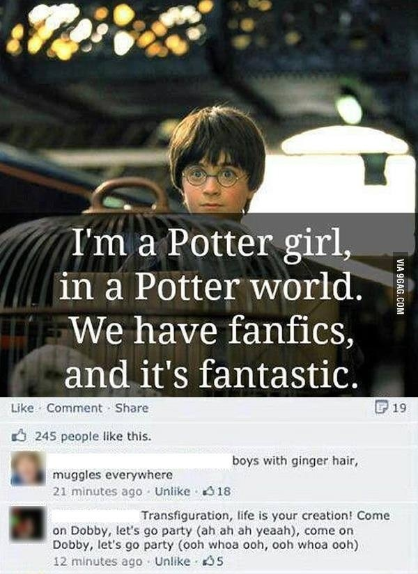 harry potter fangirl - photo #38
