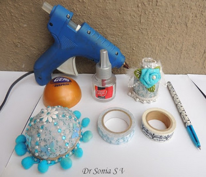 diy tutorial, Recycling Crafts, DIY Recycled and Washi Tape Crafts