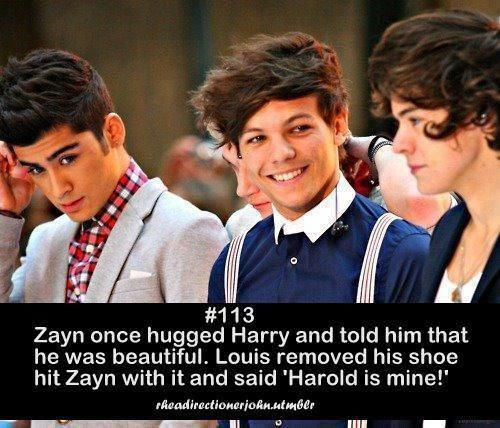 1d, fact, harry... Larry Stylinson Hug Gif