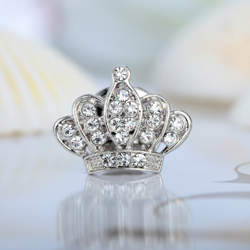 brooch, chic, crown and crown brooch
