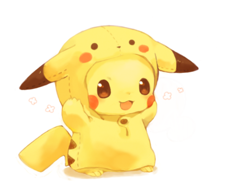 Adorable cute pikachu pokemon suit