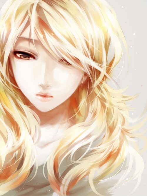 Akihana Akari  Anime-anime-girl-blonde-hair-girl-Favim.com-711669