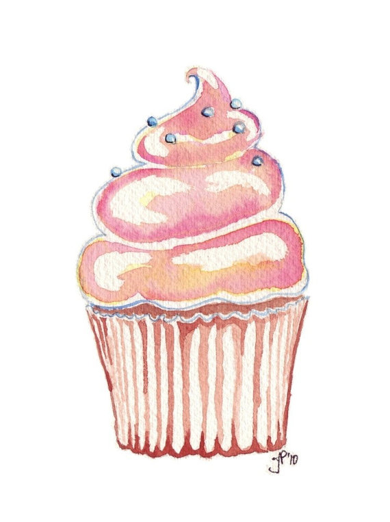 art, cupcake, draw, drawing, food, illustration, illustrations, photo, sketch